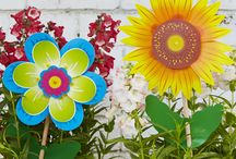 Flora / Printed Italian Windmills available in a range of colours & designs- ideal in a pot plant in a courtyard or balcony.