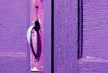 Purple doors & buildings / by Nancy Violette
