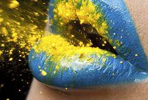 Make-up / Make-up, maquillage  inspiration (human, photographie, portrait)