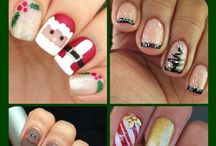 Ideas for Christmas nails