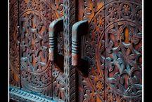 kapı oyma