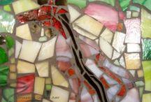 Glass mosaic / Üvegmozaik