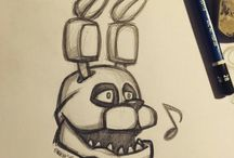 Five nights at Freddy's art