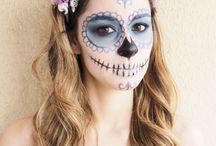 Halloween Makeup / Maquiagem para o dia das bruxas / Inpirações de maquiagem para o dia das bruxas