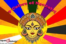 Navratri special Offers / Cheapairetickets.in offers special deals on Navratri... Book online holiday and flight and get cheap and best deals that suit your budget..