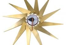 Tic Toc Modern / Mid Century Modern Clocks by Iconic Designer George Nelson