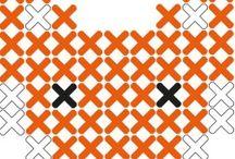 Mønstre for korssting