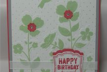 Stampin Up Wildflower