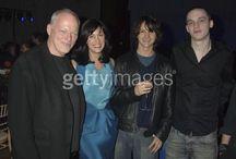 David Gilmour,Polly Sams  David Gilmour,Polly Samson,Charlie Gilmou szerző: Dave M. Benett