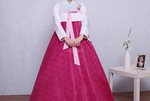 Korean Traditional Dress / Hanbok / Showcasing Korean culture through their tradional clothes. Click here to shop: https://k-rookie.myshopify.com/