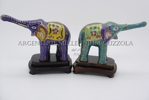 collezione  di elefanti di ory