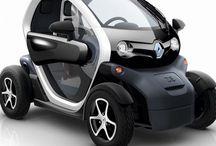 Twizy / Renault Twizy ist ein wendiges und kompaktes Elektroauto.