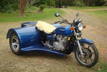 Projects to Try / Kawasaki 1000 Police bike to trike conversion
