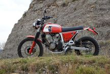 Honda Transalp Scrambler / Inspiration for my next bike