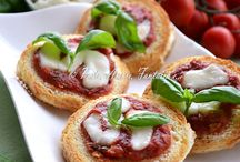Ricette - Antipasti, finger food / by Gianfranca Barone