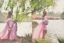 Spring maternity shoot
