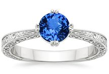 Setting for GG's ring / Settings to set GG's sapphire anniversary ring