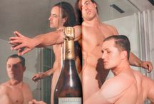 Champagne & Men / Men enjoying Champagne