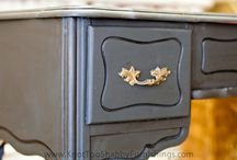 Chalk Paint - ideas and great how-tos / by Cindy Lee