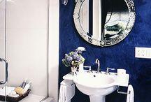 Espelho do lavabo e penteadeira