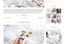 Blogger | Templates + Tutorials / If you are thinking about starting a blog on Blogger - here you'll find the best resources, tools and tips to create a professional and sophisticated website.