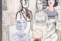 illustratori : saul steinberg