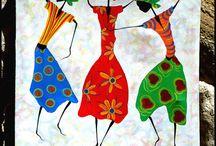 Ethnic painting