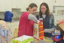 Christmas at Kingsbrook - 2013 / KAH adopted a family in need this Christmas. All our staff pitched in to make it a wonderful Christmas for them!  #Animal Hospital #Veterinarian #Pets #KAH #FrederickMaryland #Christmas #GivingBack