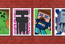 Minecraft Prints