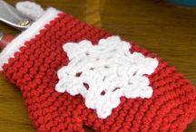 Crochet - knit - holidays
