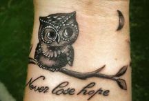 Owl's tattoo
