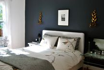 bedroom. / bedroom colour and decor inspiration. / by Kim