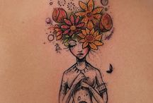 Wather color tattoo