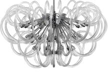 Octopus Secret-Mollini / #Chandelier made of best quality #blown #glass.Inspiration for this model was contemplation of nature. You can be traced to find forms and shapes of underwater life forms. Chromed silver construction gives #elegance and #luxurious look. Perfect finishing, easy montage and design look are one of the advantages of this product.