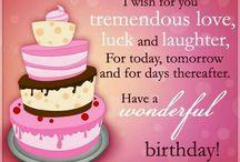 daughter's birthday wishes