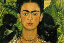 Frida Kahlo Art and Photos