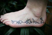 Dino tattoo