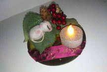 twas the night before christmas Christmas mouse / twas the night before christmas mouse ornament