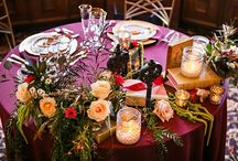 Sweetheart Tables / Ideas for sweetheart tables for wedding couples.