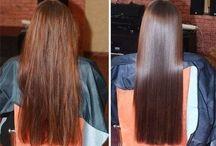 Hemmagjord hårinpackning