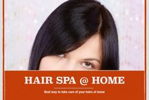 DIY Haircare and Beauty / Hair Spa @ Home