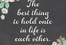 Love & Wedding Quotes / Love quotes & words of wisdom to inspire your wedding, marriage, and everyday life.