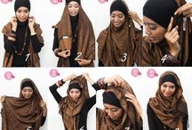 Hijab pictorals n outfit ideas / by Aisha Siddiqa