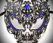 filigree metal masks