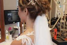 Wedding Hairstyle / medium length