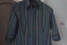 Marina: stripped shirt / Я хочу создать образ в естественном стиле.  Хотелось бы вписать туда, к примеру, прилагаемую рубашку.
