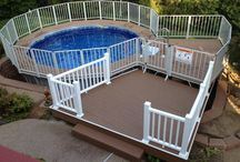 Above Ground Pool Designs / Above ground swimming pools, contact Brown's Pools & Spas for above ground pools at 770-942-0118 or www.brownspools.com