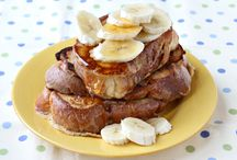 Foodie {Breakfast Recipes} / Pancakes, French toast, muffins, eggs, waffles, breakfast casseroles, cinnamon rolls and more delicious breakfast recipes to start your day in the most yummy way!   For more ideas http://blog.thecelebrationshoppe.com