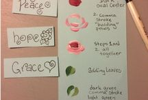 Healing Arts / Healing and expressive arts projects to help heal, comfort and inspire!