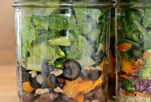 salad in a jar / by Jennifer Nelson